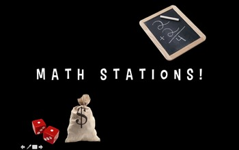 Math Station Powerpoint