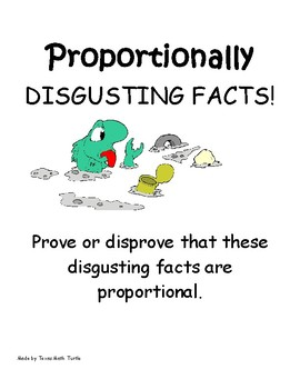 Math Station: Proportional. Prove or disprove that the facts are proportional.
