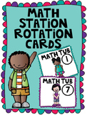 Math Station Rotation Cards
