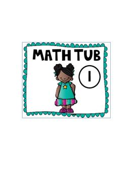 Math Station Rotation Cards