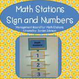 Math Stations Board