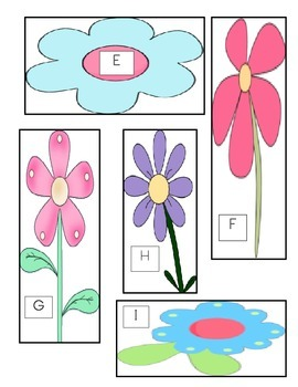 Math Station to Go! Flower Measurement