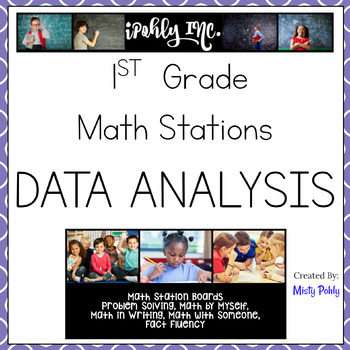 Math Stations 1st Grade Data Analysis