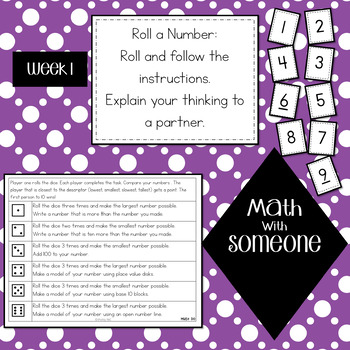 Math Stations 2nd Grade Foundations of Number
