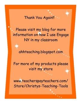 Math Stations Accountability and Reflection Sheet