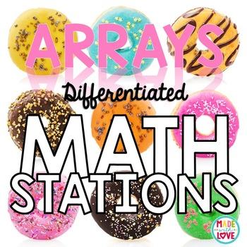 Math Stations: Arrays