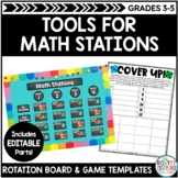 Math Stations Beginning of the Year Bundle