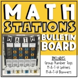 Math Stations Bulletin Board