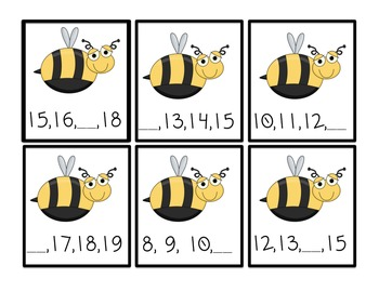 Math Stations: Bugs in the Backyard Themed