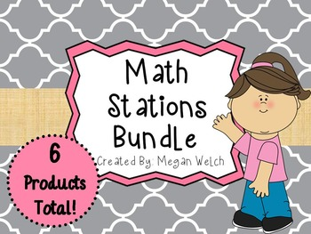 Math Station Bundle