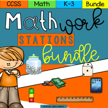 #crazybundledeals Math Stations Common Core Aligned Math Centers