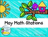 Math Stations Kindergarten May