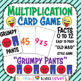 "Math Stations Multiplication Facts Card Game -""Old Maid"" style - fun"