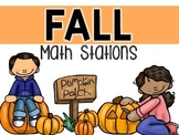 FALL Math Stations