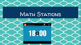 Math Stations PPT