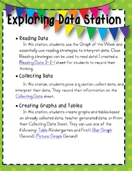 Math Stations Pack: We have Math Fluency!