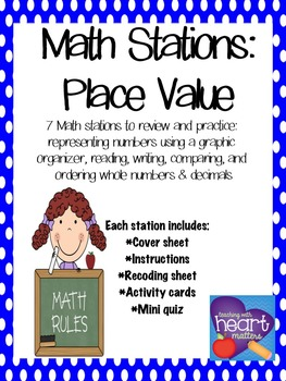 Math Stations: Place Value