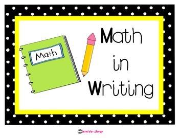 Math Stations Posters Polka Dot