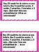 Math Stations: Probability IN SPANISH (Centros de matemáti