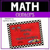Math Stations - Racing Into Math Stations