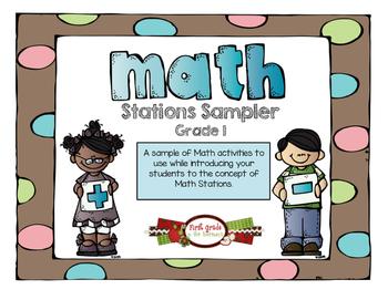 Math Stations Sampler
