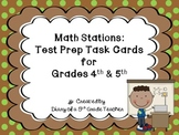 Math Stations: Test Prep Task Cards