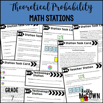Math Stations: Theoretical Probability & Simulations