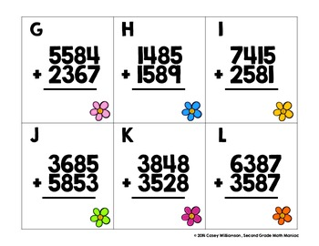 Math Stations and Journal Prompts for May: Second Grade Common Core