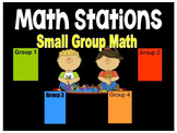 Math Stations Automated Powerpoint for center rotations