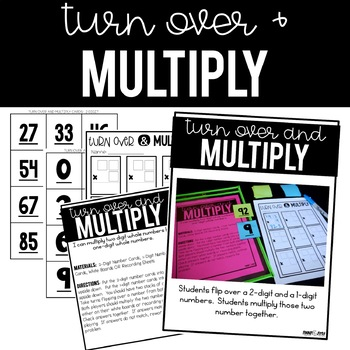 Math Stations for 4th Grade:  Set Two