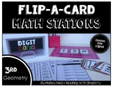 Math Stations for Geometry ~ Flip-A-Card