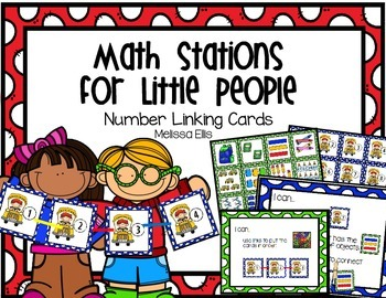 Math Stations for Little People:  Number Links 0-20