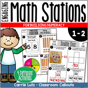Math Stations for Numeracy Skills