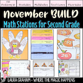 BUILD Math Centers for Second Grade NOVEMBER