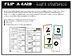 Math Stations for Subtraction ~ Flip-A-Card