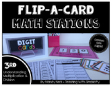 Math Stations for Understanding Multiplication ~ Flip-A-Card