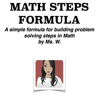 Math Steps Formula