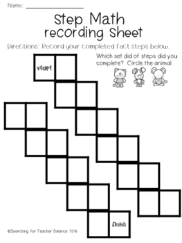 Math Steps - Subtraction Facts to 10 and 20, and Missing Addends Edition