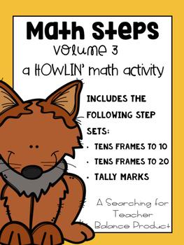 Math Steps - Tens Frames and Tally Mark Edition