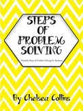 Math Steps of Problem Solving Printables