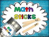 Math Sticks!  Ten Engaging Games for K-2