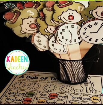 Math Sticks-Time