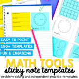 Math Sticky Note Template