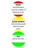 Math Stop Light