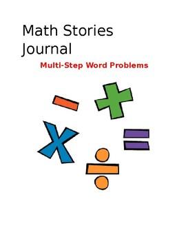 Math Stories Journal:  Multi-Step Word Problems