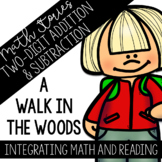 Math Stories: Two Digit Addition and Subtraction