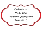 Math Stories for numbers 1-5