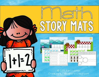 Addition & Subtraction Math Story Mats
