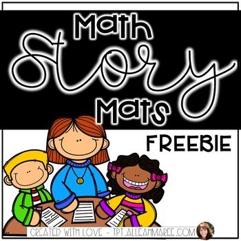 Math Story Mats FREEBIE