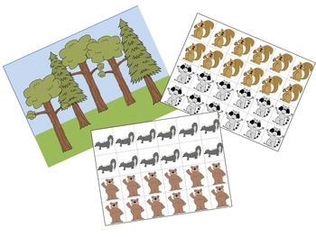 Math Mats and Manipulatives {addition, subtraction, counting for primary grades}